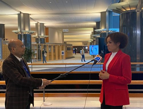 Pakistan Geo.tv interviews MEP Rafaela on the topic of women's violence in Pakistan