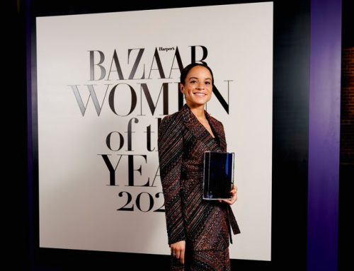 Samira Rafaela received Harper's Bazaar International Woman of the Year Award