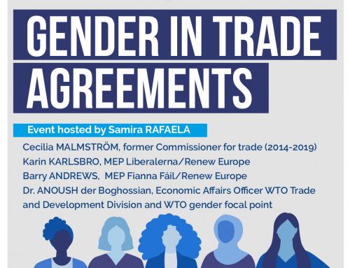 Webinar Gender in Trade Agreements
